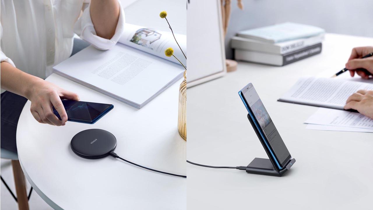 2,000円でフルスピード充電、ワイヤレス充電器「Anker PowerWave 10 Pad / Stand」が発売