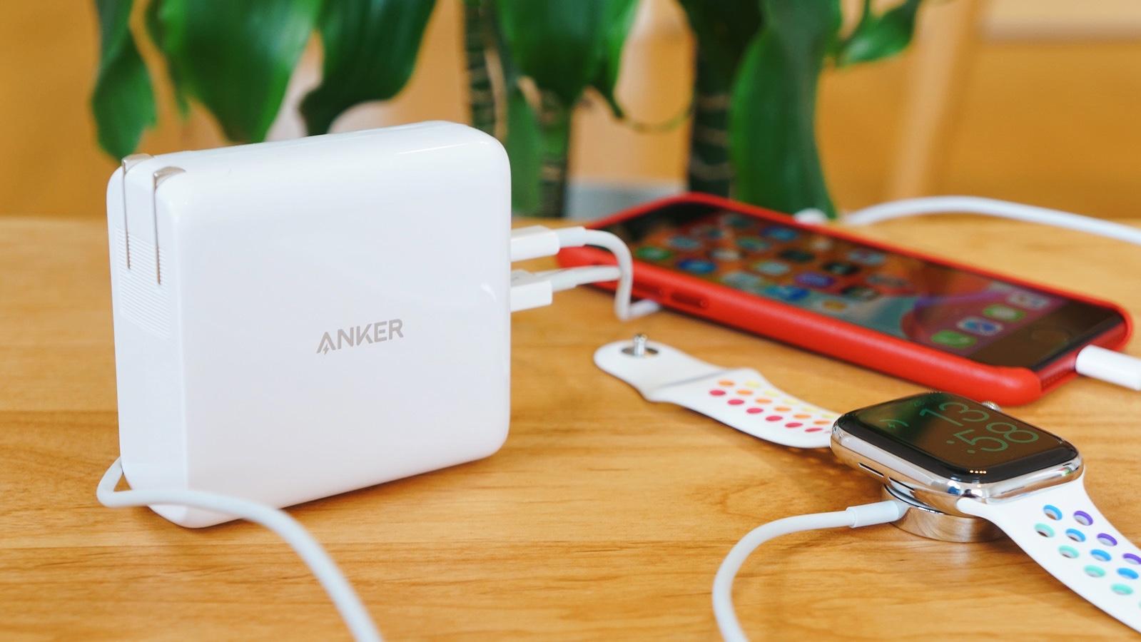 バッテリ&急速充電器「Anker PowerCore lll Fusion 5000」レビュー