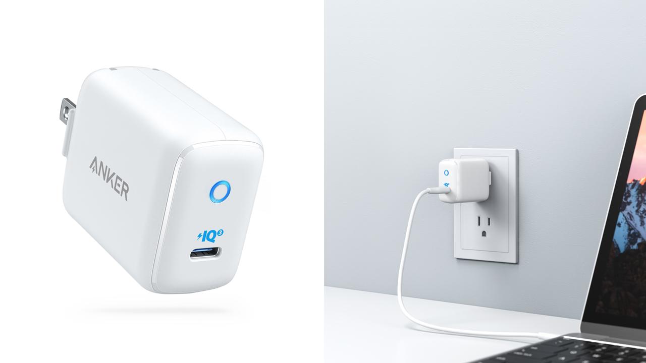 20%オフ、最大30Wの超小型充電器「Anker PowerPort III mini」が発売