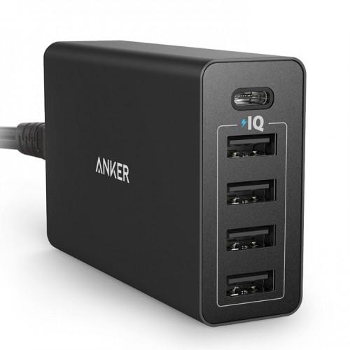 2,999円、AnkerがUSB-C対応の急速充電器「PowerPort 5 USB-C」を発売