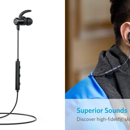 1,999円、防水ワイヤレスイヤホン「Anker SoundBuds Slim」が1000個限定セール