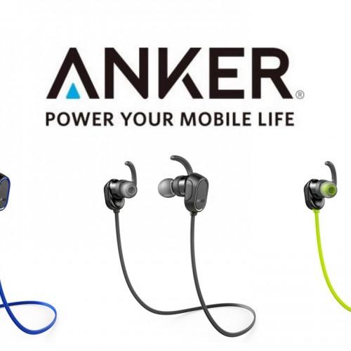 本日限定20%オフ、Ankerの防水ワイヤレスイヤホン「SoundBuds Sport」