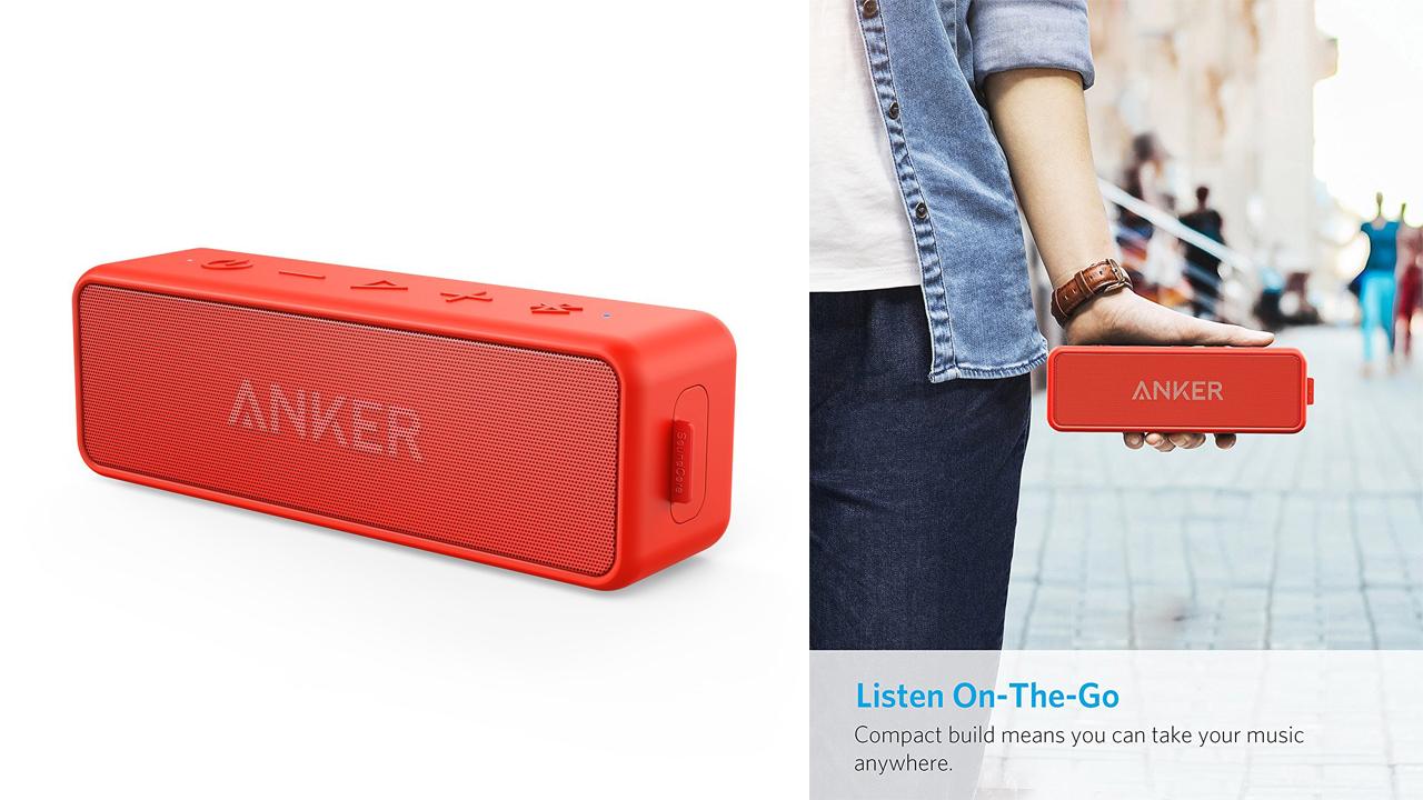30%オフ!防水ワイヤレススピーカー「Anker SoundCore 2」が本日限定セール