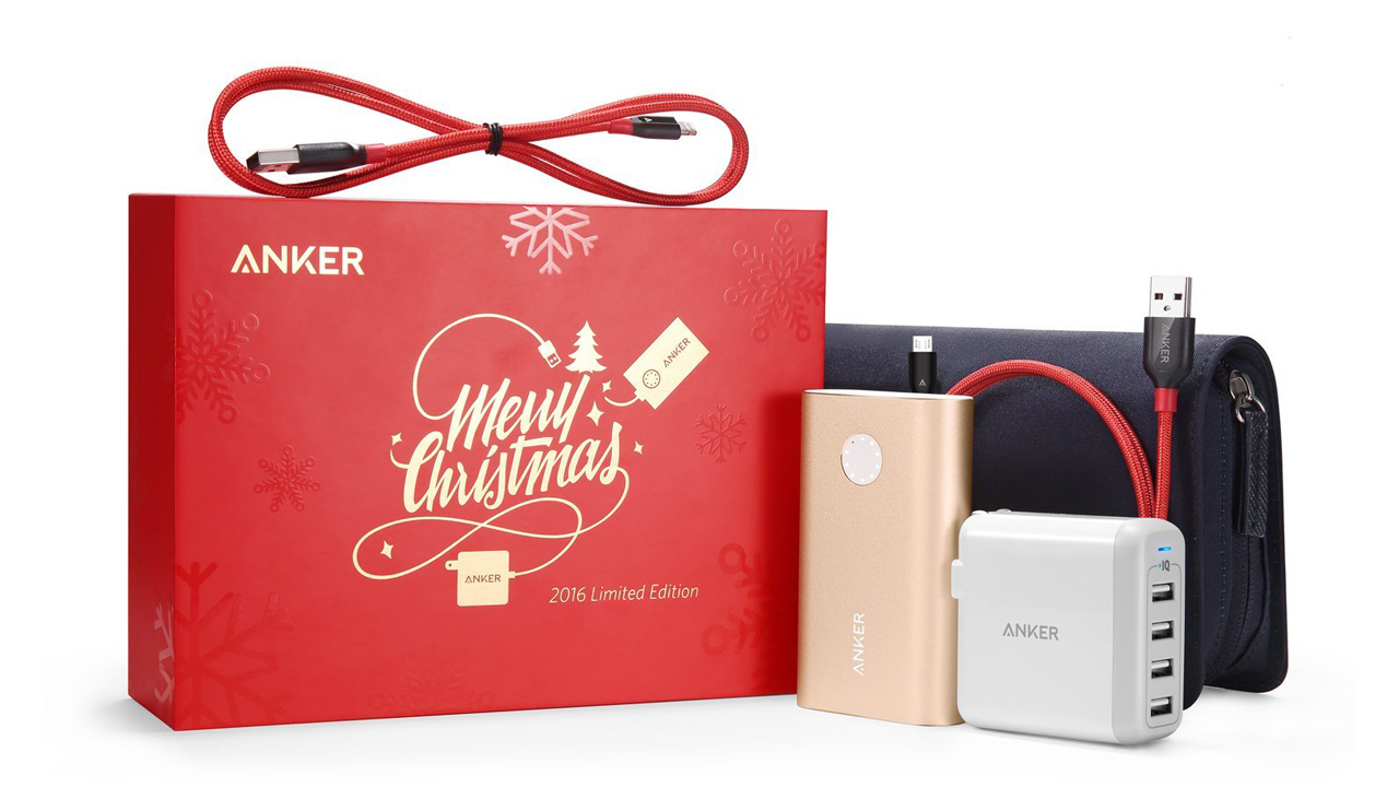 Anker、数量限定プレミアムセット「Anker Christmas PowerPack」を発売