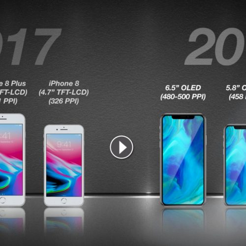 Apple、2018年に6.5インチ「iPhone X Plus」など3機種を発売か