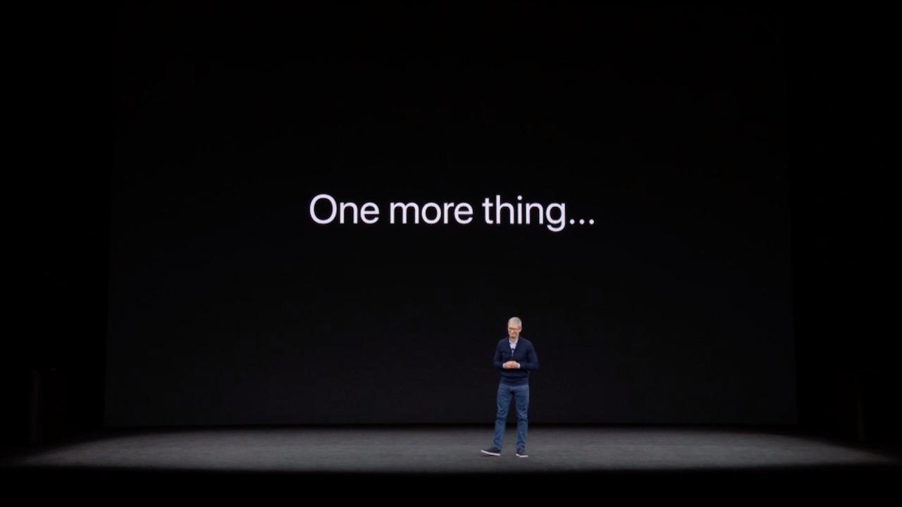 """Apple、スペシャルイベントで2年ぶりに""""One more thing""""発表か"""