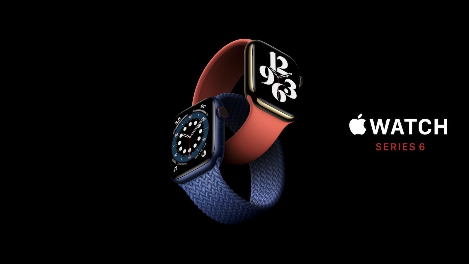 「Apple Watch Series 6」が発表。発売日・価格・新機能まとめ