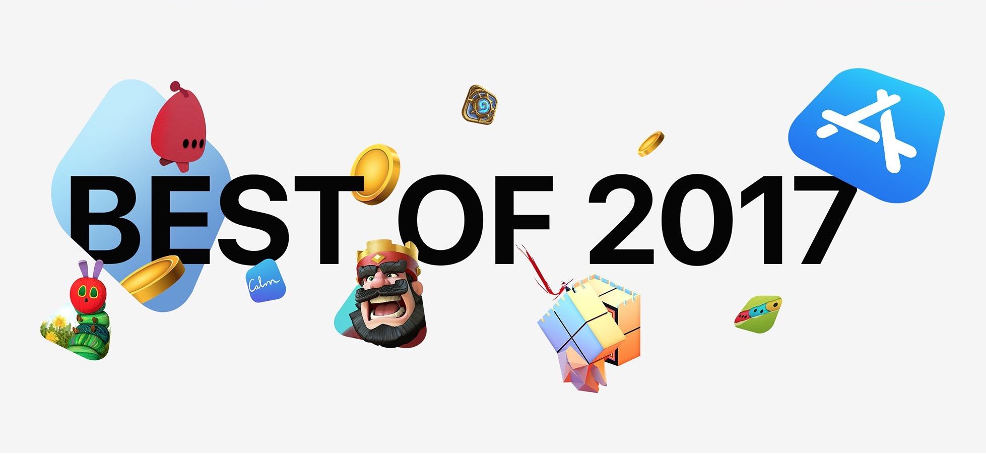 Apple、2017年のベストアプリ・ベストゲームを発表