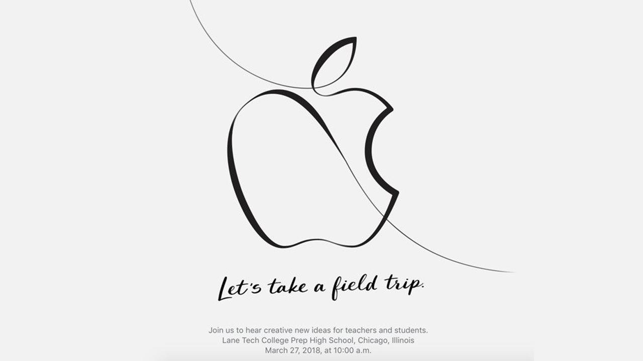Apple、3月27日に教育関連のイベント開催。iPhone SE2、新型iPadなど発表?