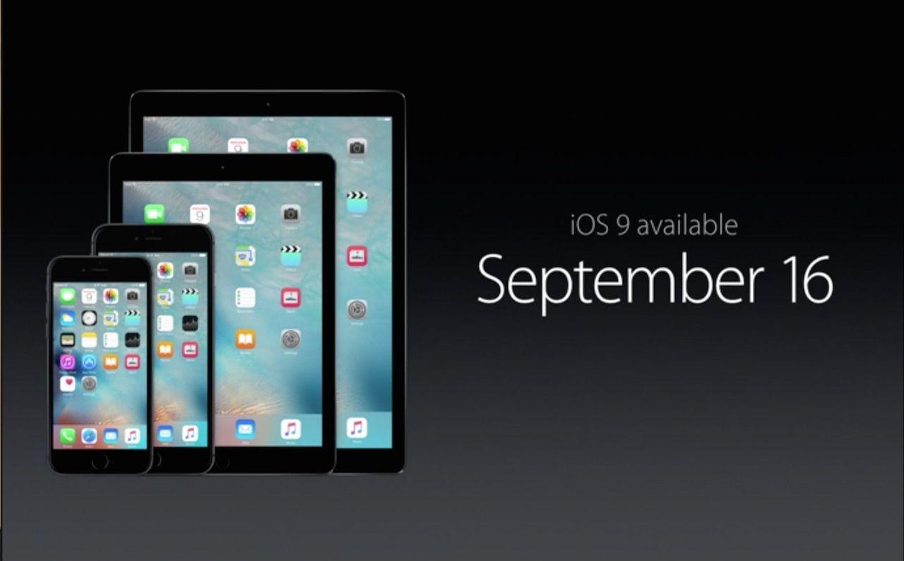 アップル、iOS 9を正式発表 9月16日から配信スタート