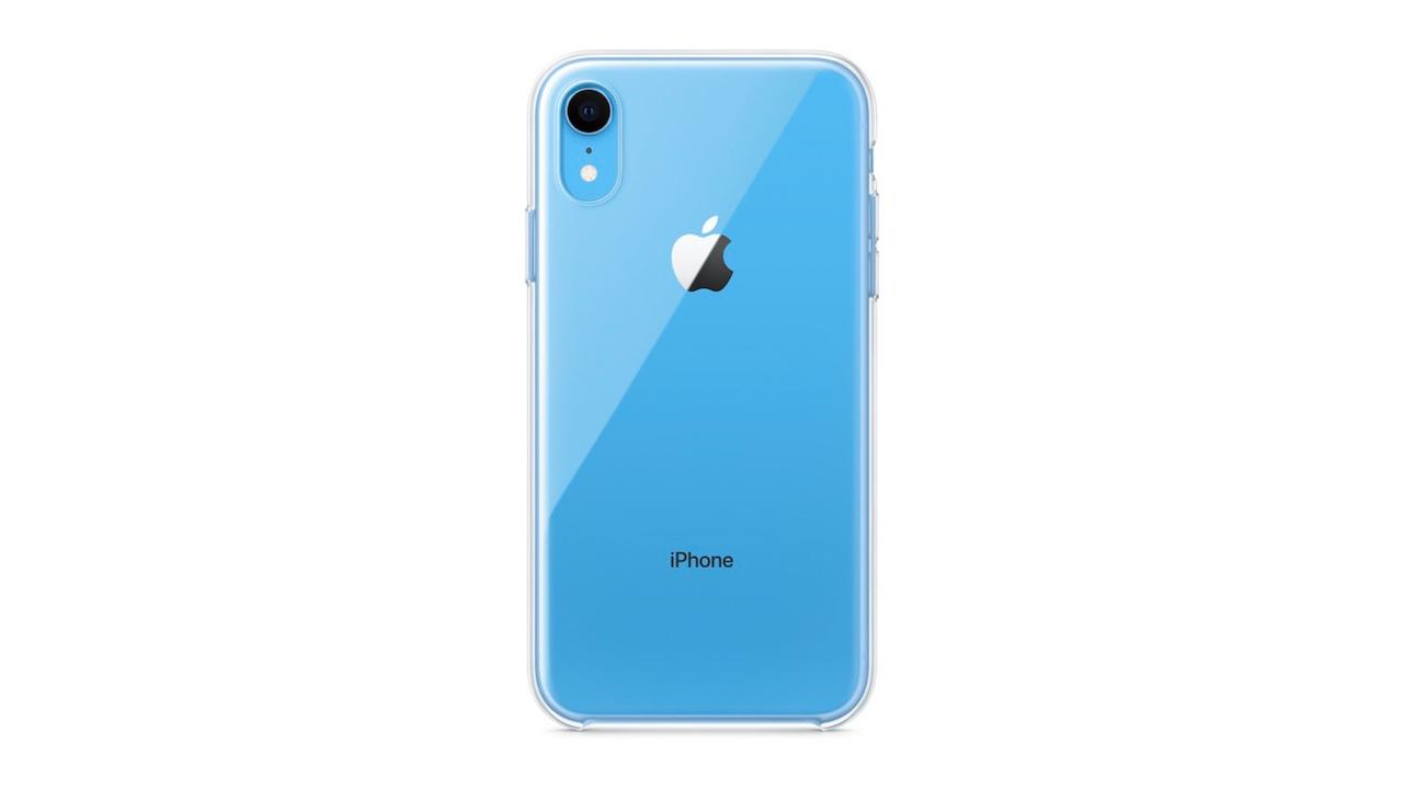 Apple、「iPhone XR」向けに初の純正クリアケース発売へ