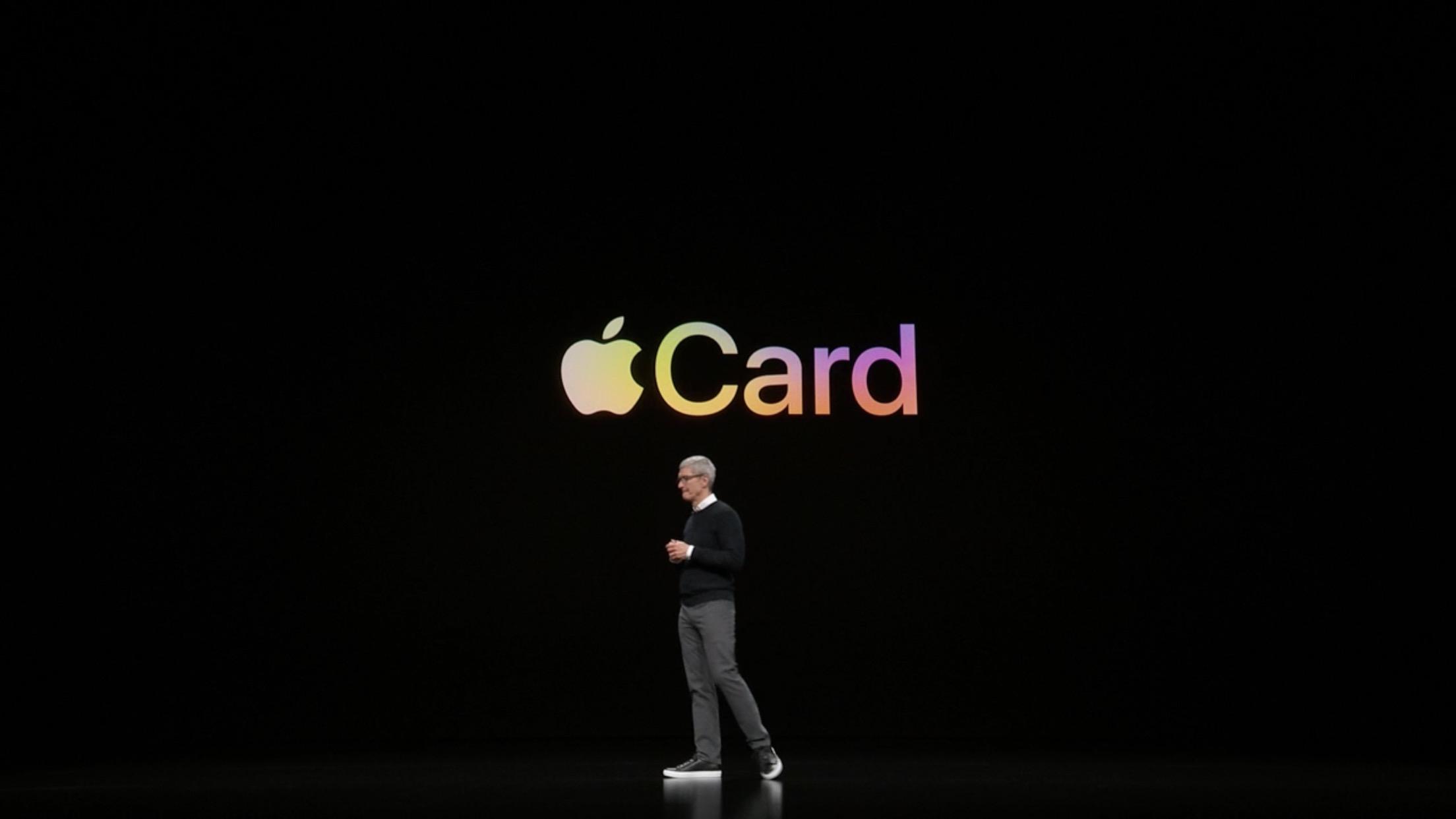 革新的なクレカ「Apple Card」が登場。Apple関連の支出は3%で即日還元、年会費なし