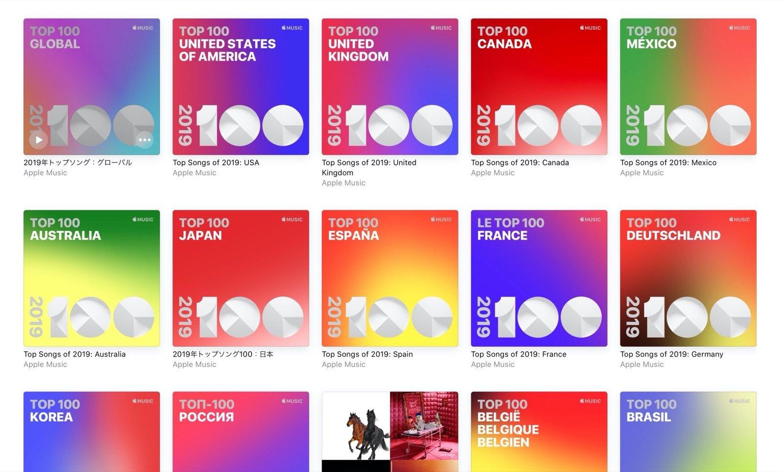 Apple Music、2019年トップソング100発表。1位はあいみょんの「マリーゴールド」