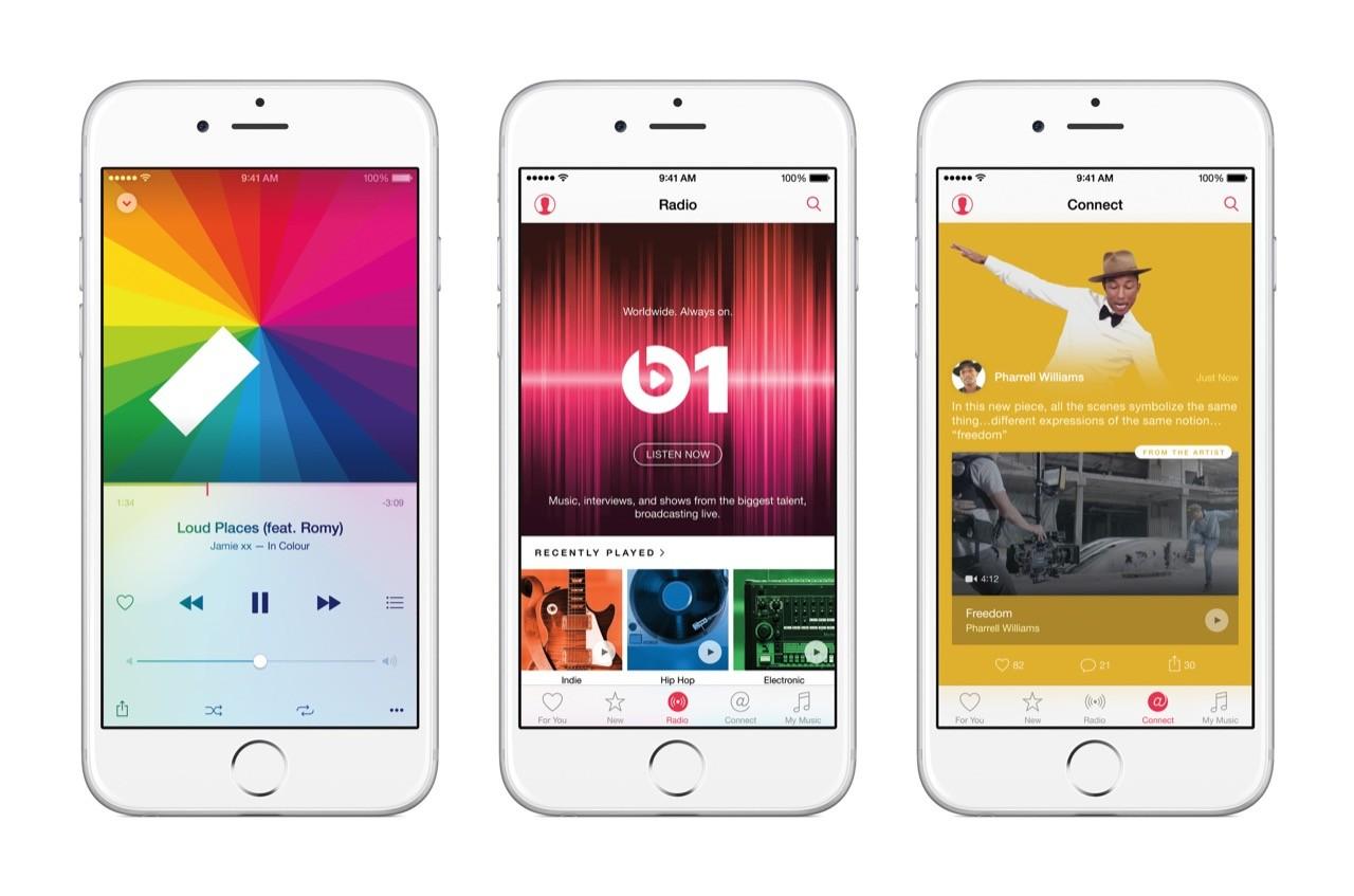 音楽聴き放題の「Apple Music」がサービス開始、月額980円で日本でも利用可能