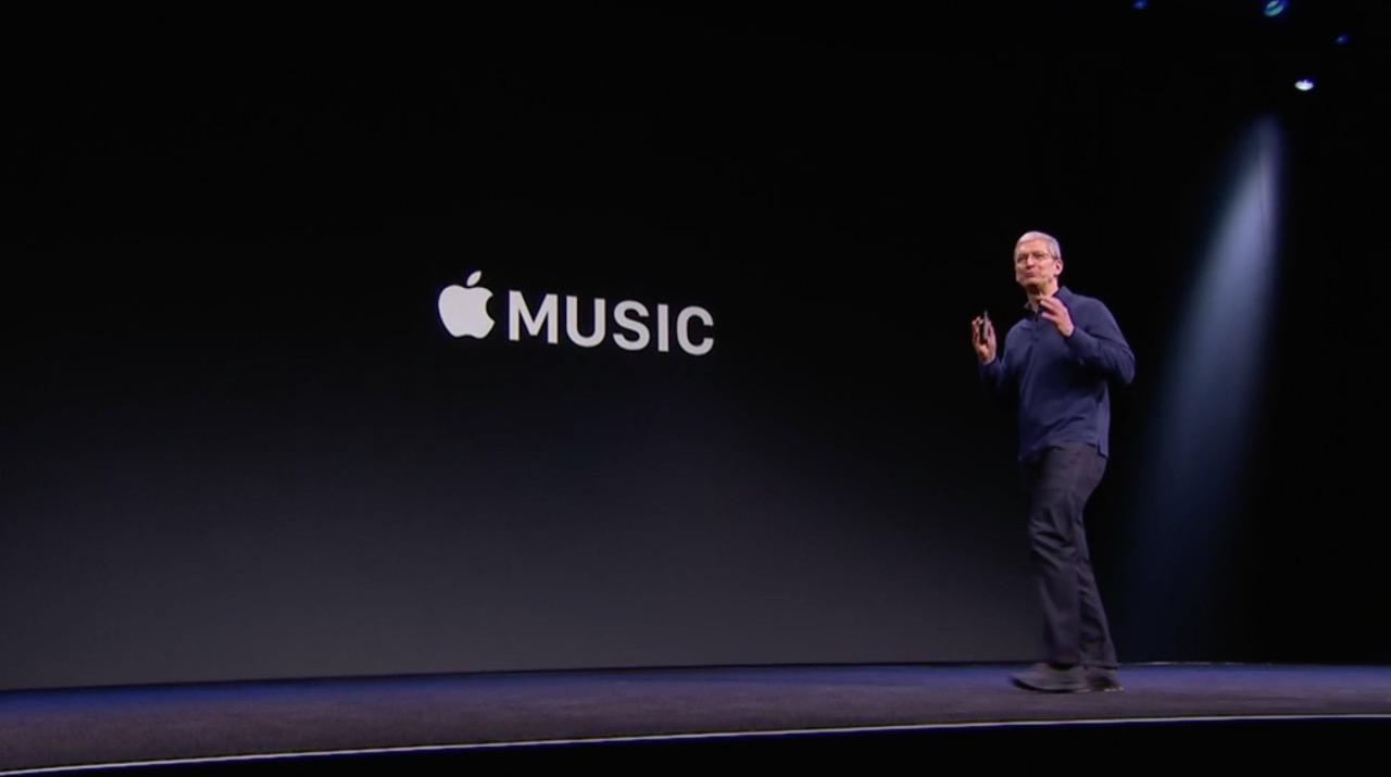 定額制の音楽サービス「Apple Music」が発表。日本でも6月30日に提供へ