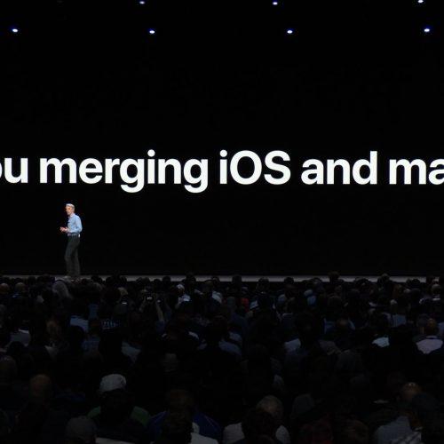 Apple、iOSとmacOSは統合しないと明言。アプリの移植はカンタンに
