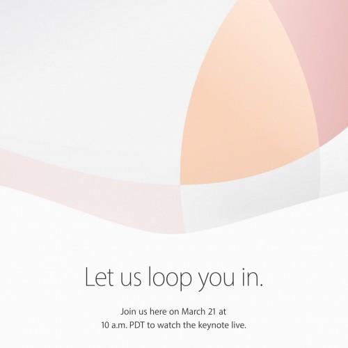 アップル、3月21日にスペシャルイベントを開催――iPhone SEとiPad Pro発表へ