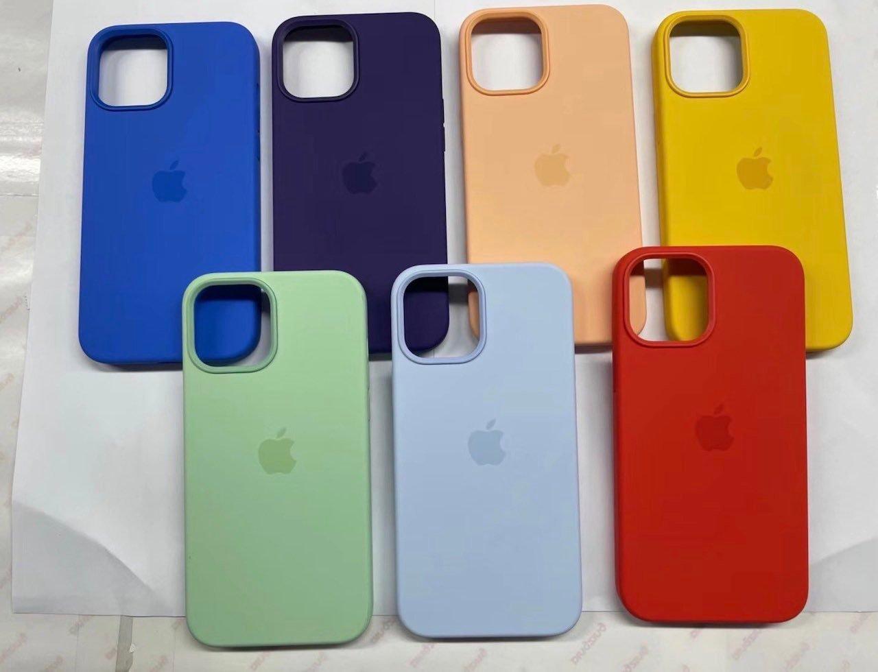 春の新色、iPhone 12 純正ケースが大量流出