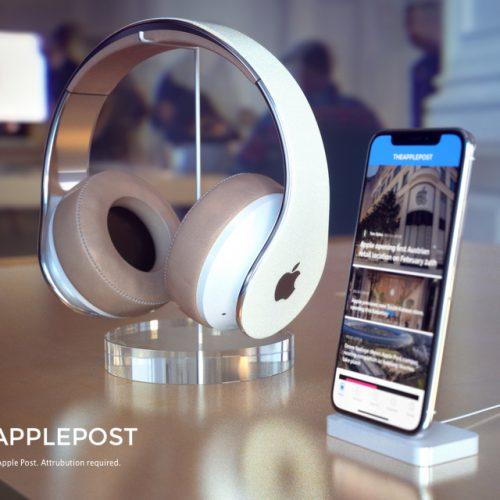 Appleブランドのヘッドフォンはこんな感じ?コンセプトイメージ登場