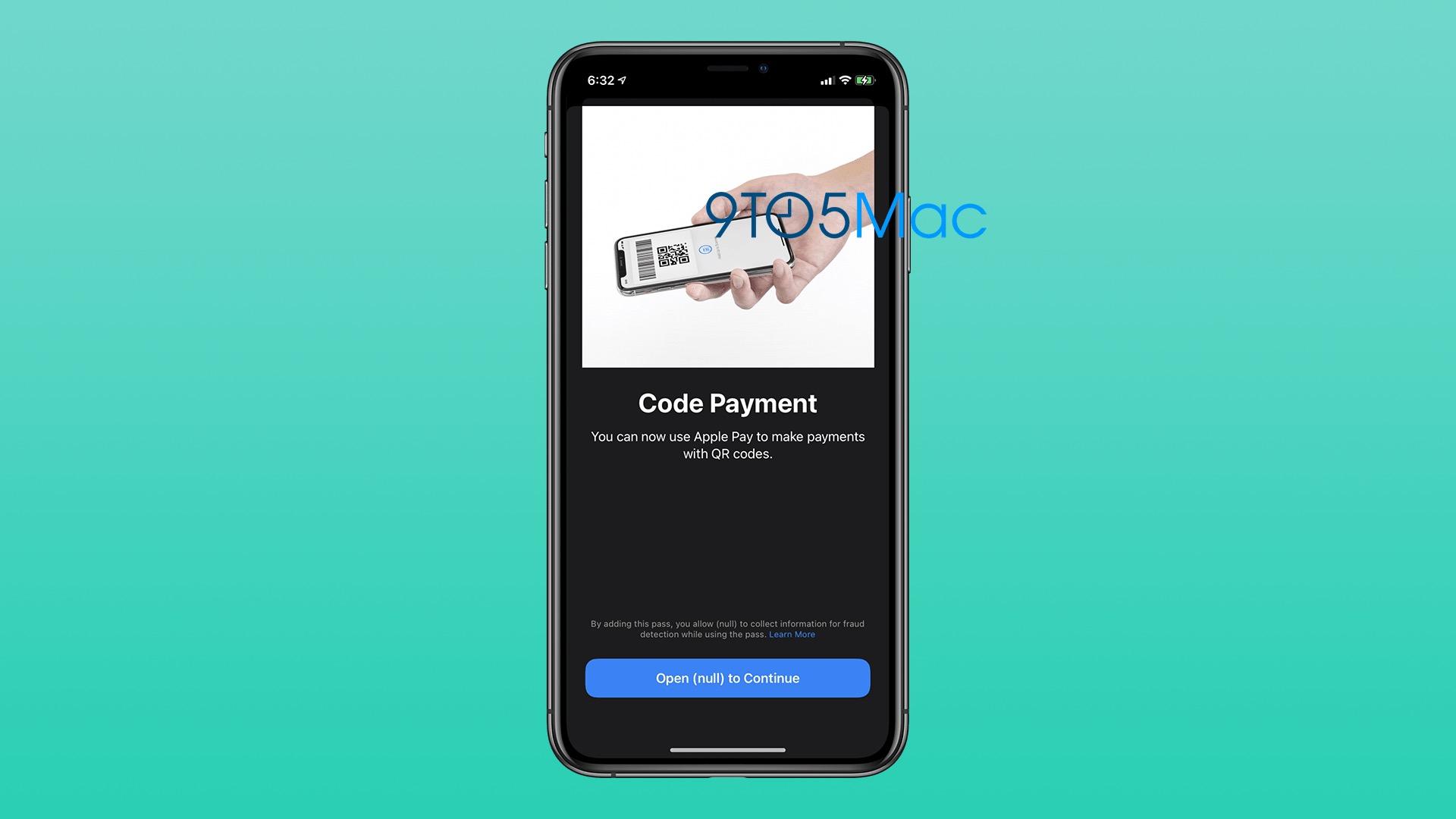Apple Pay、QRコード決済に対応か。iOS 14から見つかる