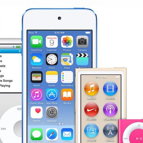 Apple、iPod nanoとshuffleの販売終了。iOS 11対応の「iPod touch」は値下げ