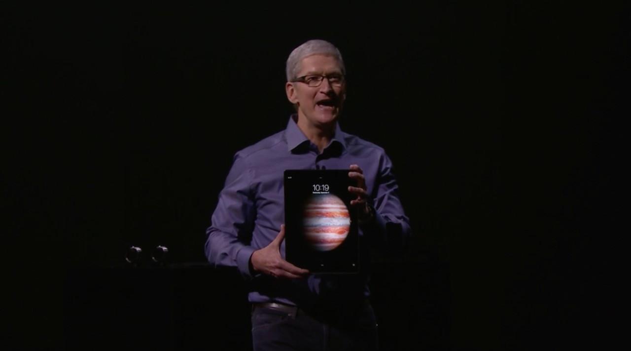 アップル、iPad Proを11月発売 12.9インチ、2732×2048ピクセル、PC並の処理能力