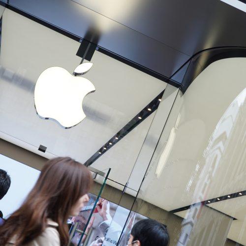 最新デザインのApple Store「Apple新宿」がオープン。1000人の行列、記念品の配布終了