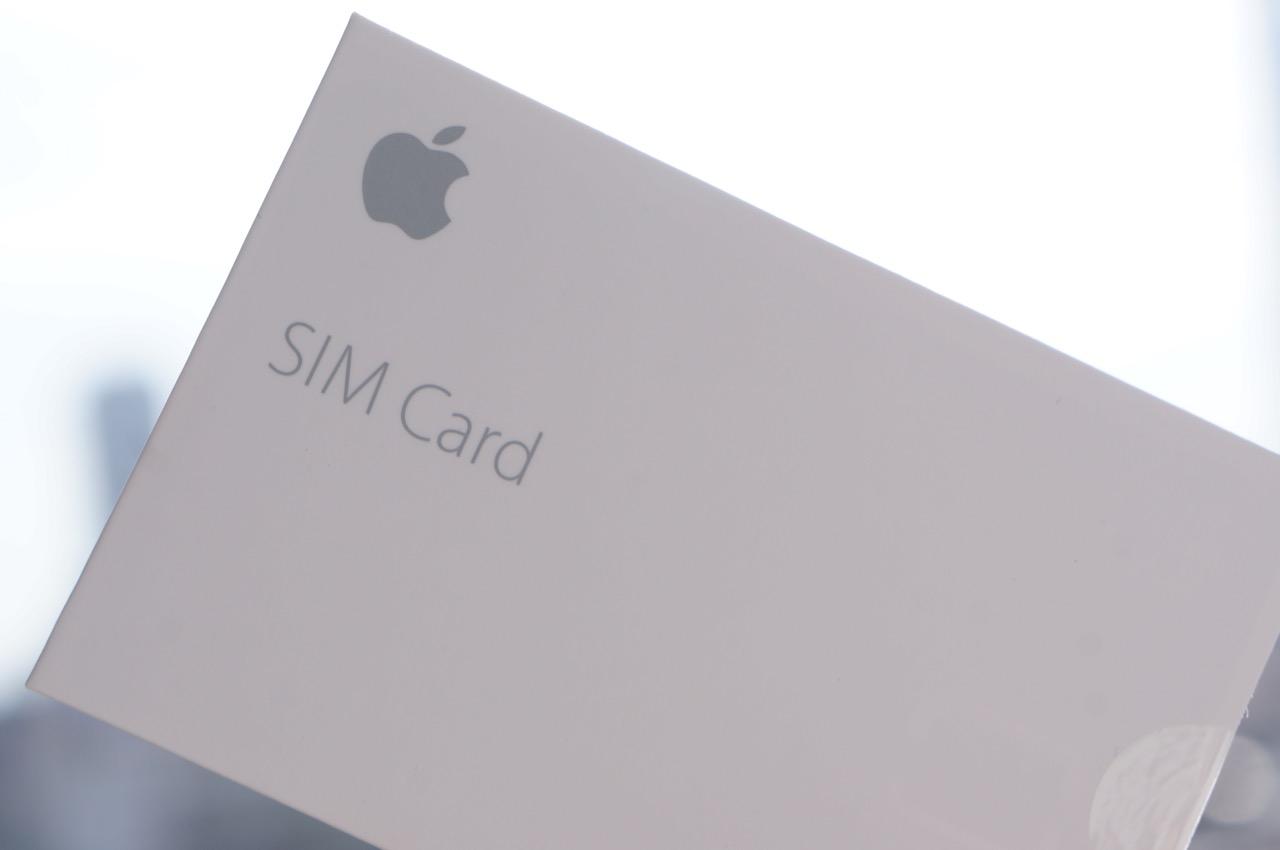 アップルストアで「Apple SIM」を購入、価格は600円