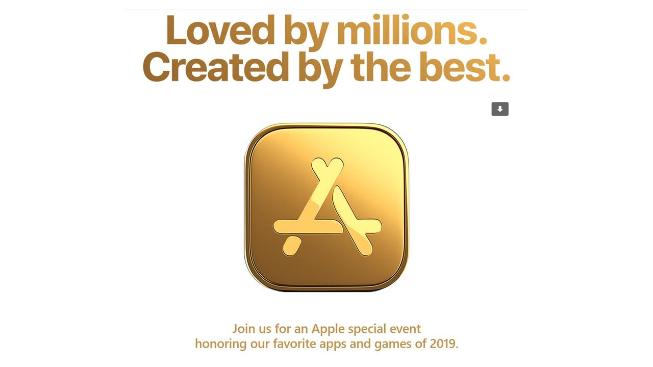 Apple、スペシャルイベントを12月3日に開催。人気アプリ・ゲームを表彰へ