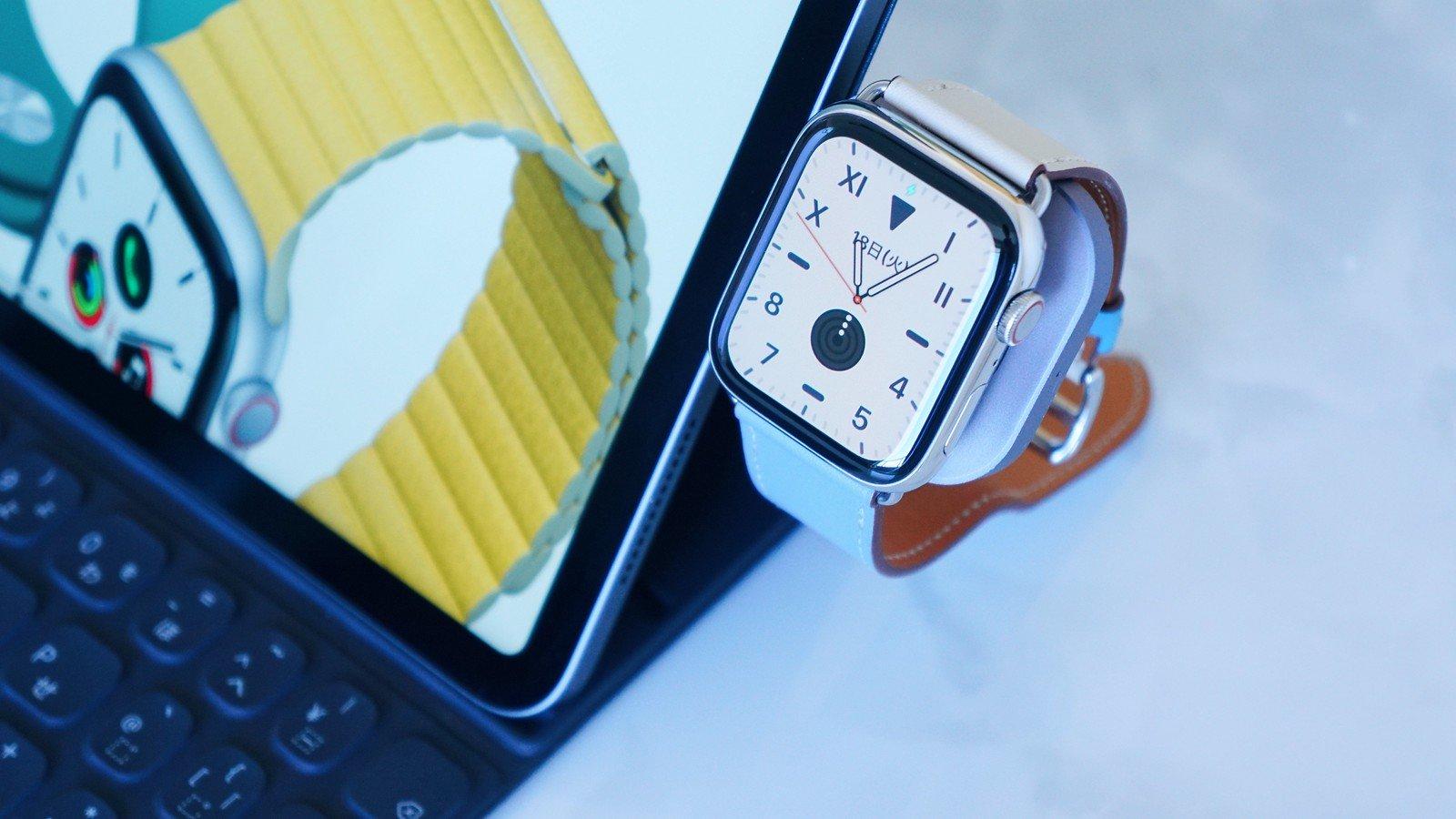 Apple Watch Series 6、急速充電に対応?新色ブルー追加か