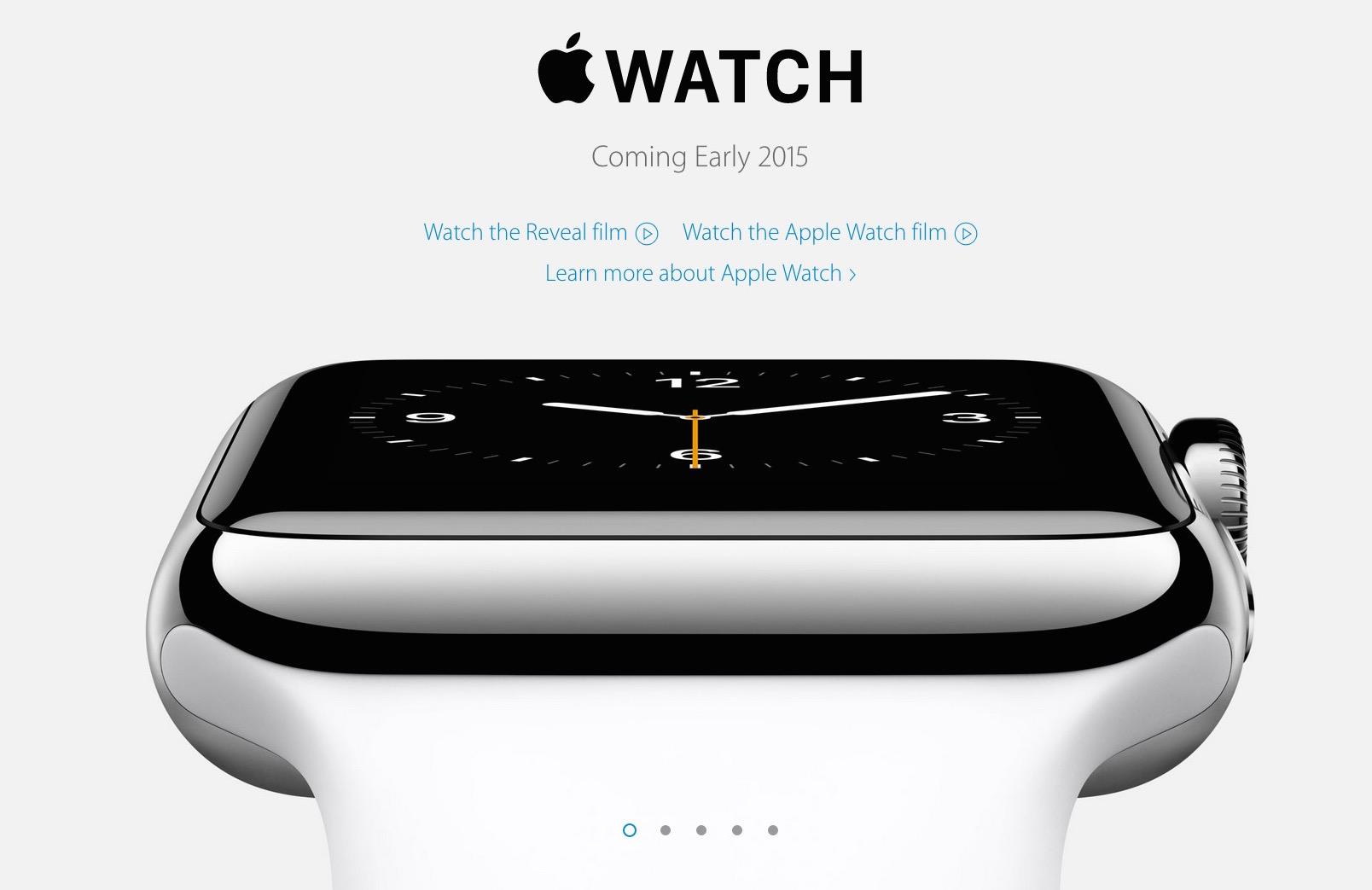 Apple Watchの発売日が「2015年発売」に再度変更される