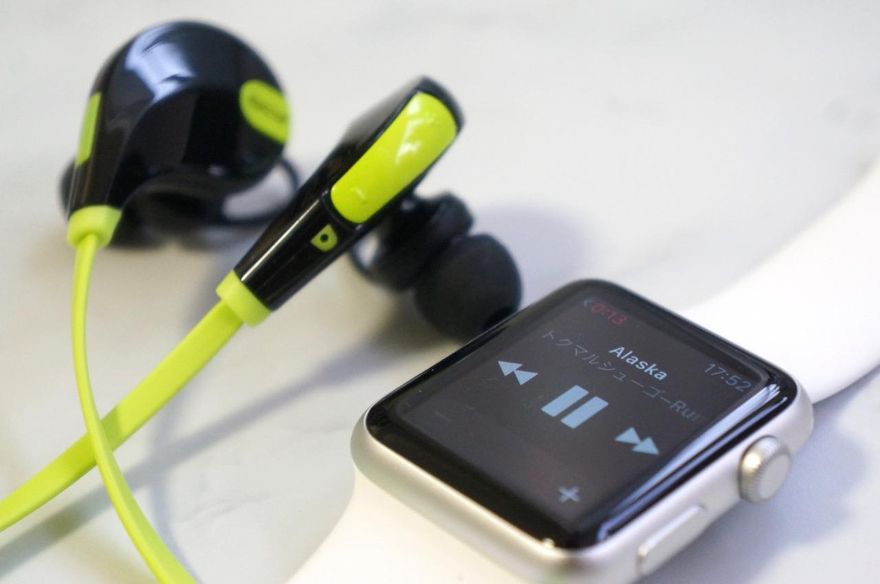 レビュー:Apple Watchで音楽を聴くためにBluetoothイヤホン「QY7」を購入