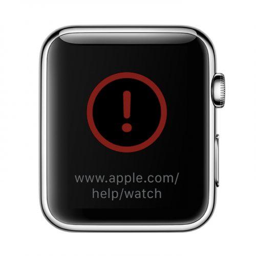 watchOS 3.1.1、アップデートでApple Watchが文鎮化〜赤いビックリマークが表示