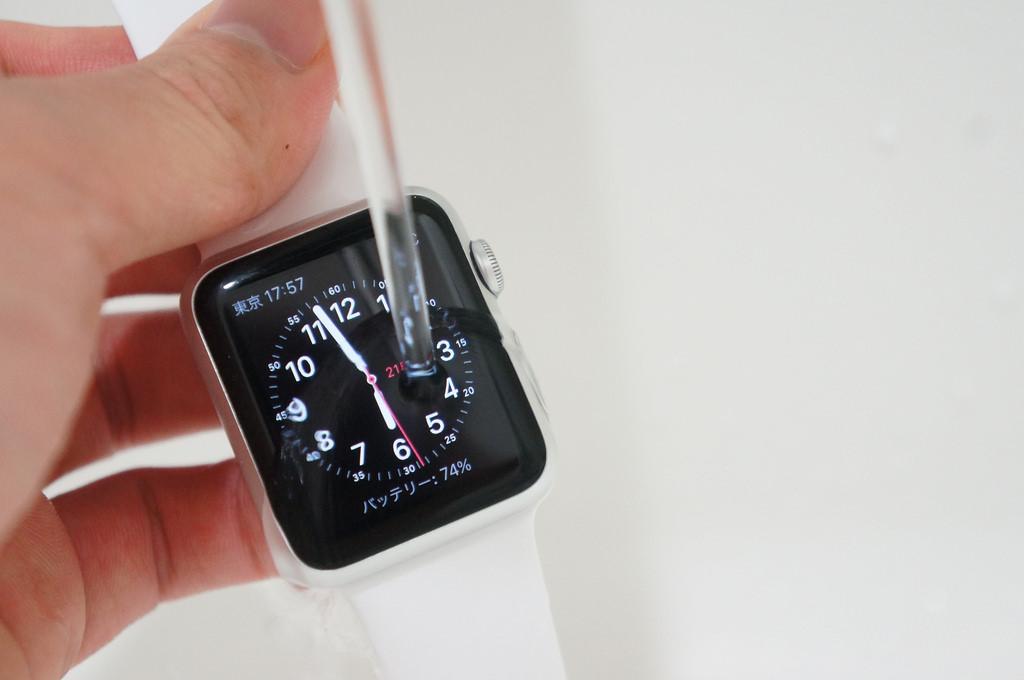 Digital Crownの動きが悪くなったらApple Watchを丸洗いセヨ