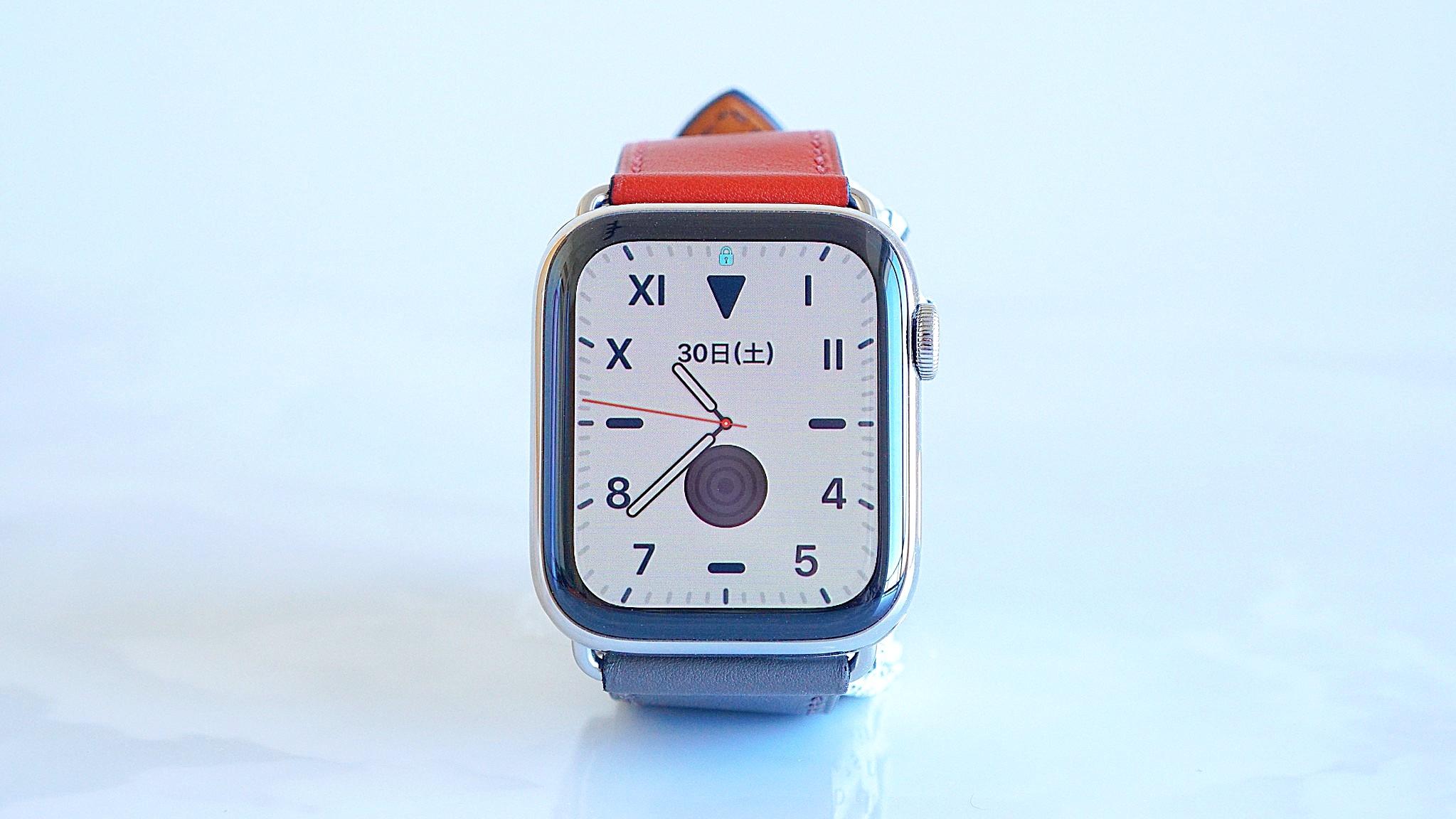 Apple Watch Hermès ヴォー・スウィフト(ノワール/ブリック/エタン) シンプルトゥールレザーストラップ レビュー