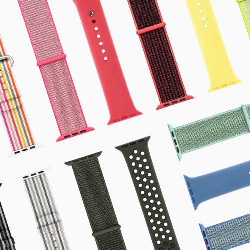 Apple Watch、春の新作・新色バンドが26種登場。3月末発売