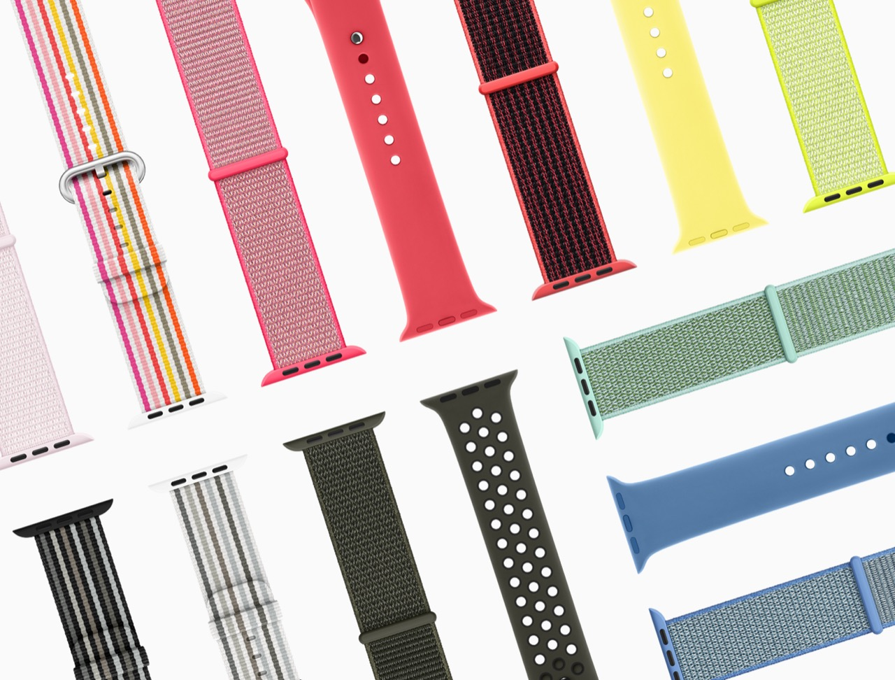 Apple Watch、春の新作・新色バンドが26種登場。28日発売