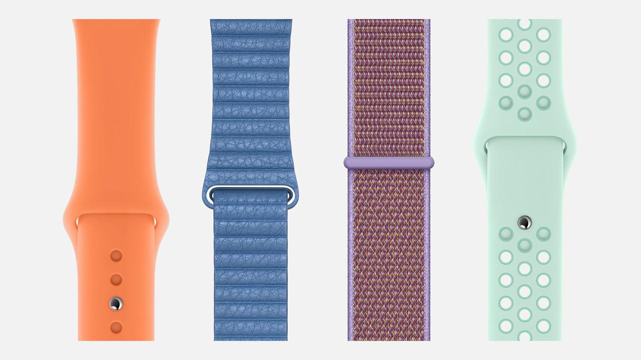 Apple Watch、爽やかな春の新色バンドが26種登場。Hermesバンドも