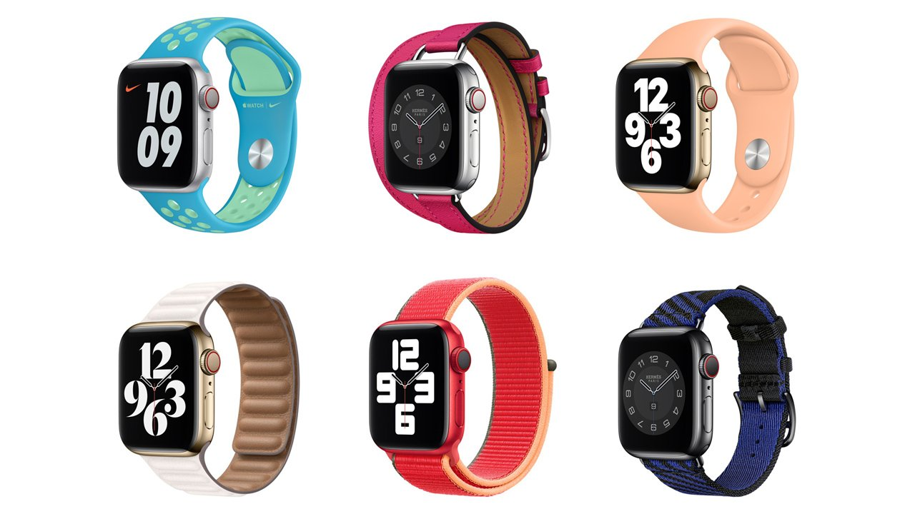 Apple Watch 2021年春の新作・新色バンド22種類が発売