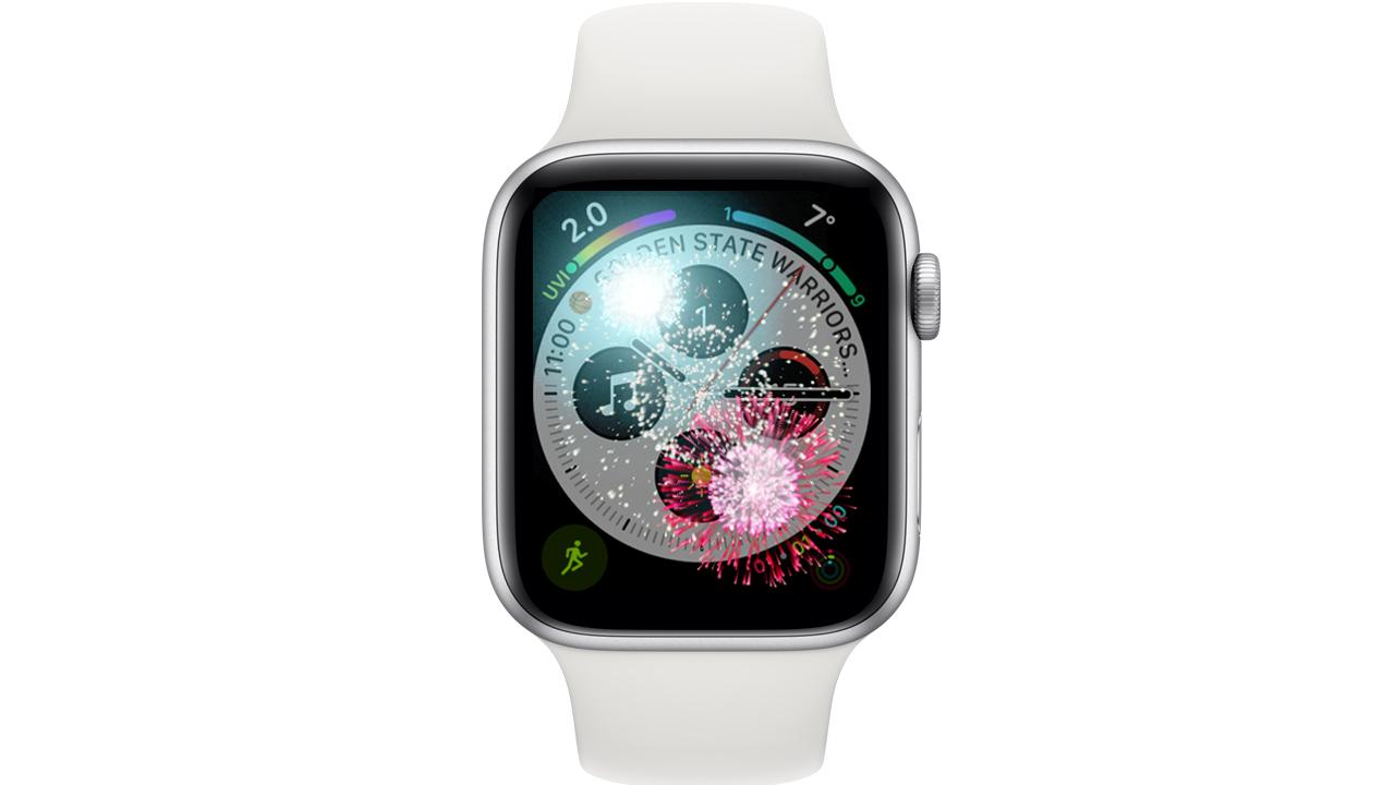 元日限定、Apple Watchに打ち上げ花火の演出が追加される