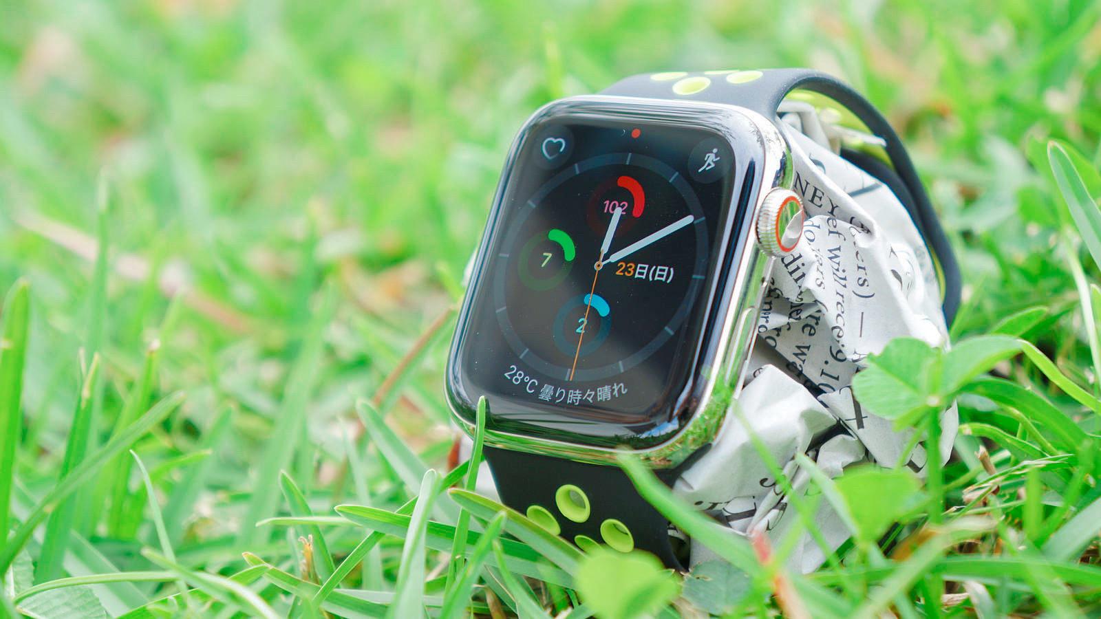 「Apple Watch Nikeスポーツバンド」レビュー