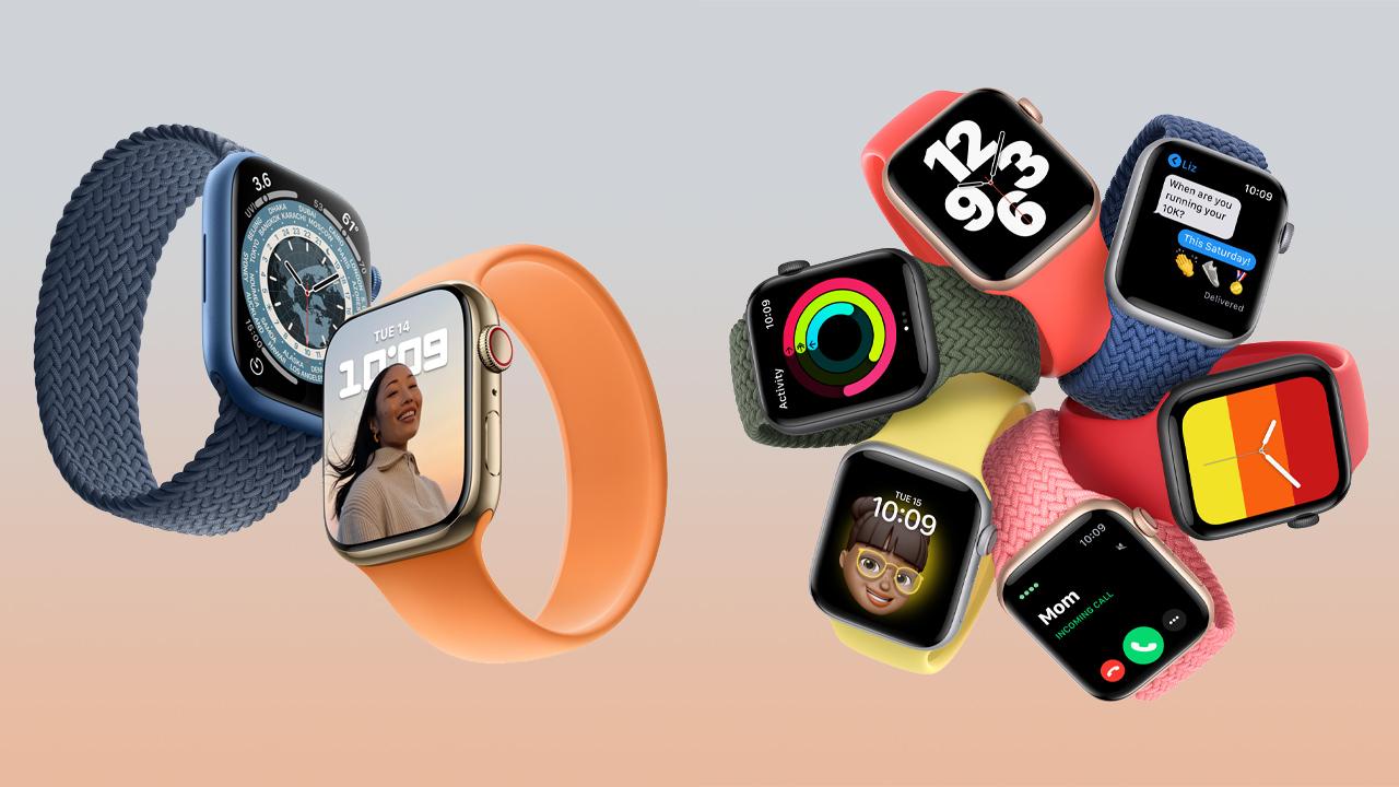 どっちを買う?Apple Watch Series 7とSEの違いを比較