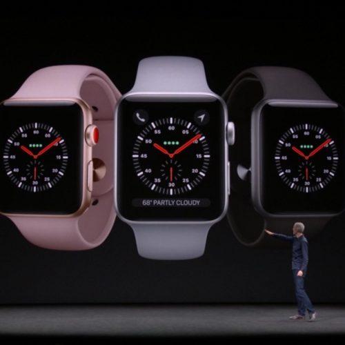 Apple Watch Series 3の発売日・予約日・価格が発表。15日予約開始、22日発売