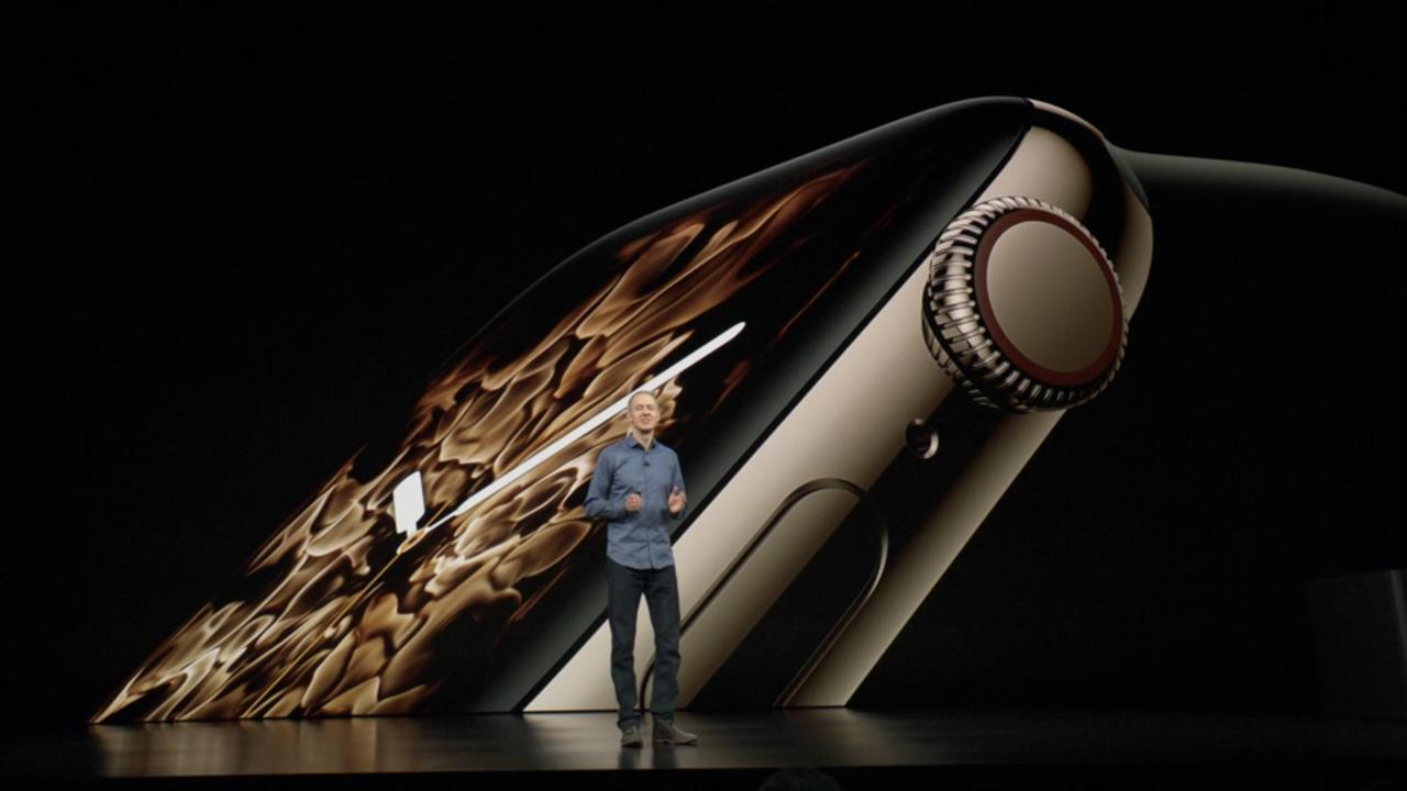 速報:Apple、新型「Apple Watch Series 4」を正式発表 最大35%大型化されたディスプレイ