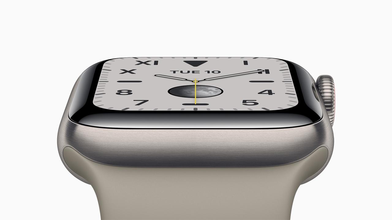 「Apple Watch Series 5」が発売。ついに常時表示に対応したモデル