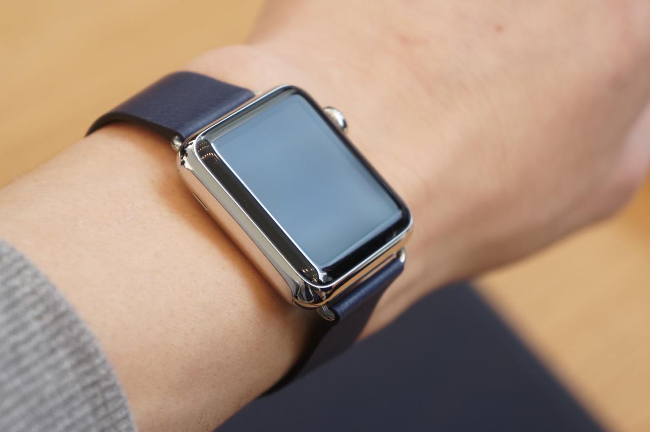 レポート:Apple Watchの展示と試着がスタート、早速試着してきました