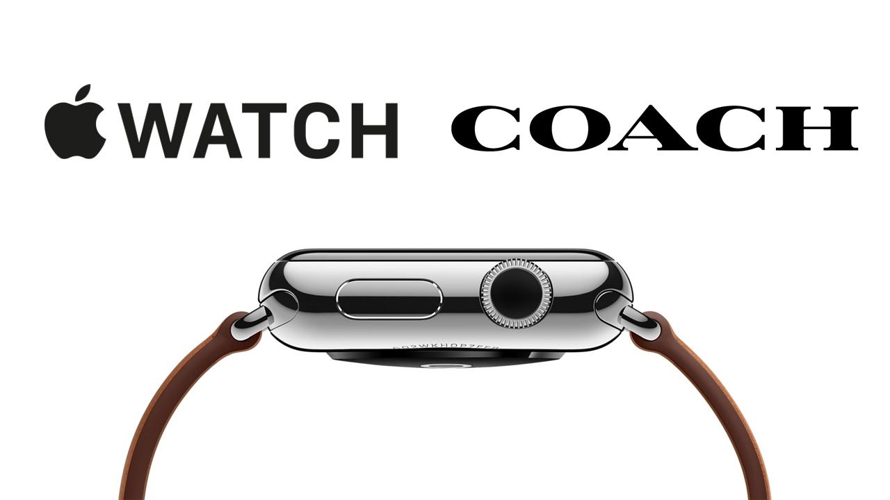アップル、COACHデザインのApple Watchバンドを発売か
