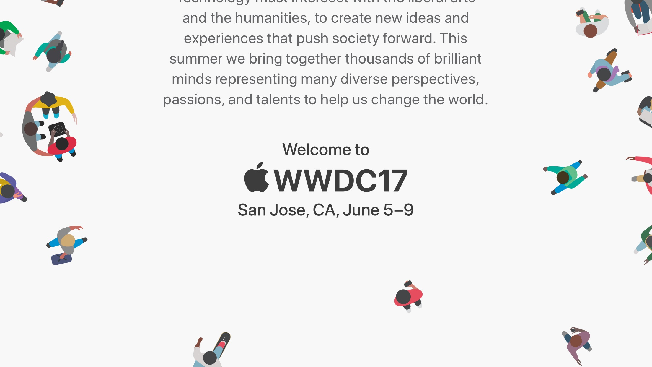 Apple、WWDC2017を6月5日から開催〜「iOS 11」発表へ