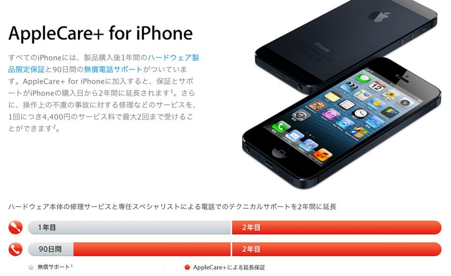 AppleCareとAppleCare+の違いについてAppleに問い合わせてみた!
