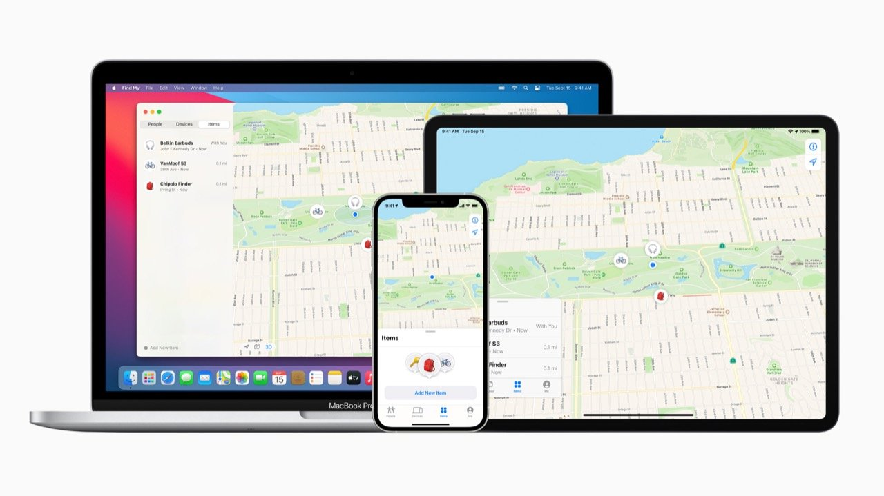 Apple、iPhoneで紛失した製品を探す機能を開放。AirTag発表なし